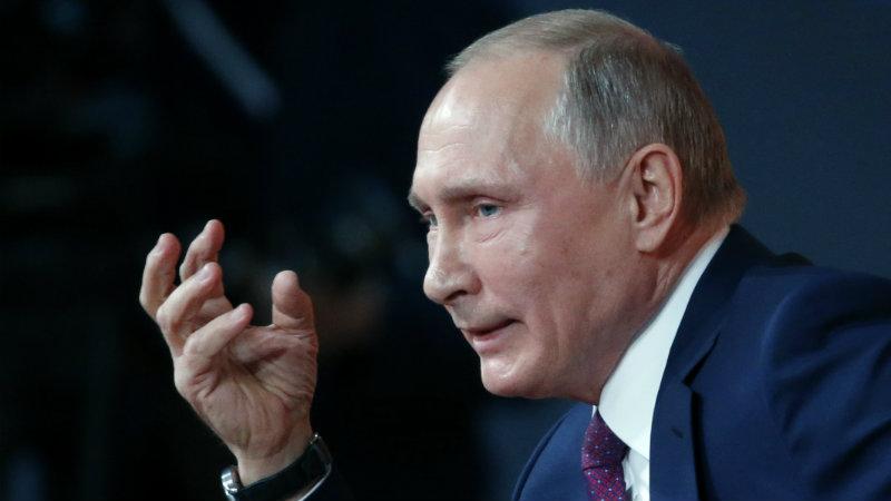 ბოლო კვლევით პუტინისადმი ნდობა რუსეთში ისტორიულ მინიმუმზეა