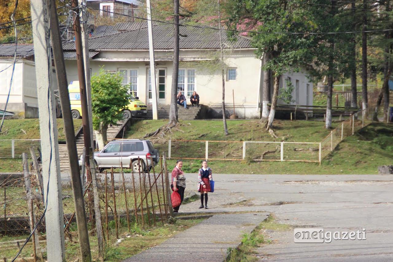 სოფელი საბერიო; გალის მუნიციპალიტეტი; ფოტო: მარიანა კოტოვა/ნეტგაზეთი