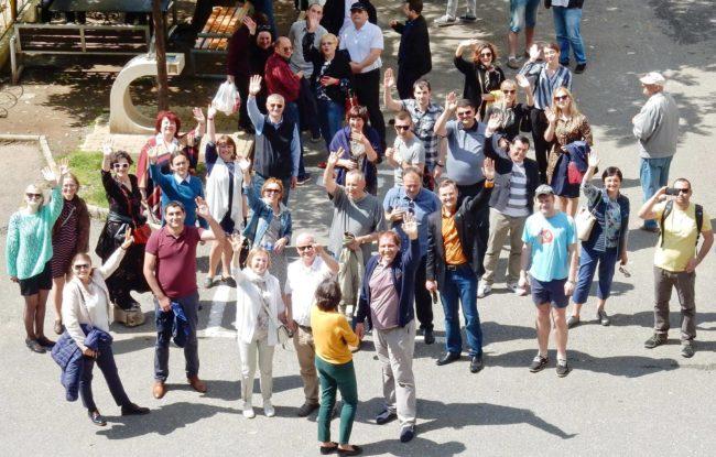 პარტნიორი ორგანიზაციის წარმომადგენლების საველე ვიზიტი ბინათმესაკუთრეთა ამხანაგობის საქმიანობის გასაცნობად, ბათუმი, 2017 წელი