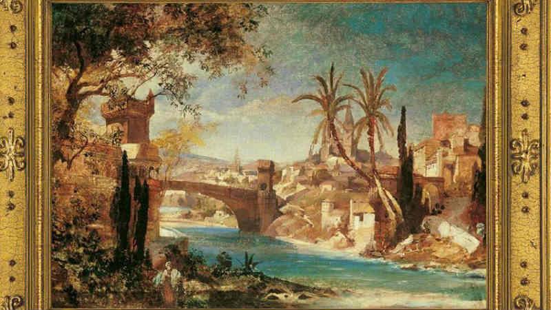 მე–19 საუკუნის გერმანელი მხატვრის სამი ნახატი, სადაც თბილისია ასახული, საქართველოს აჩუქეს