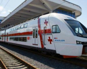 შტადლერის მატარებელი. ფოტო: საქართველოს რკინიგზა