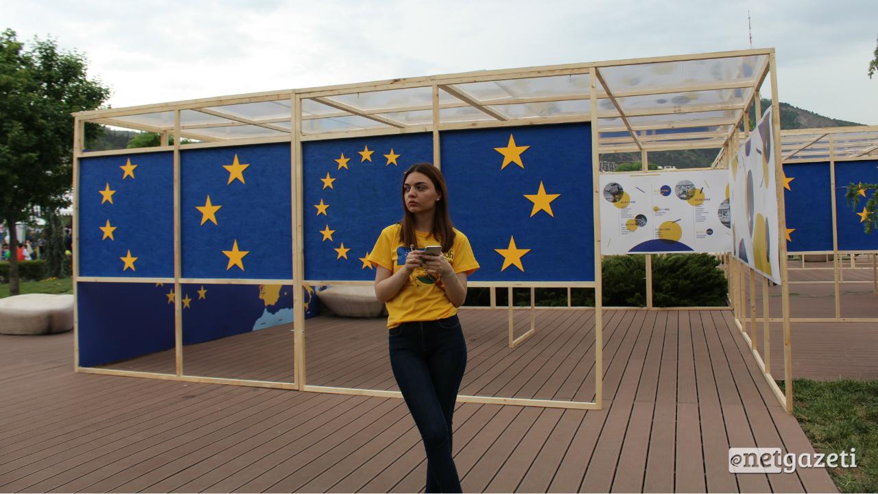 ევროპის დღის აღნიშვნა თბილისში. ფოტო: ნეტგაზეთი/მიხეილ გვაძაბია