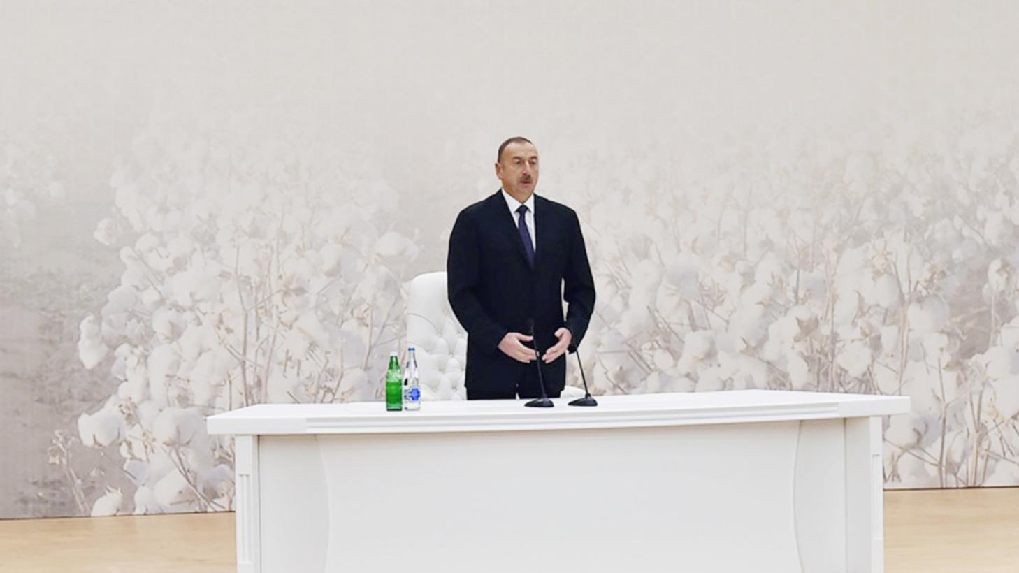 Ильхам Алиев анонсировал начало поставок газа в ЕС через Грузию