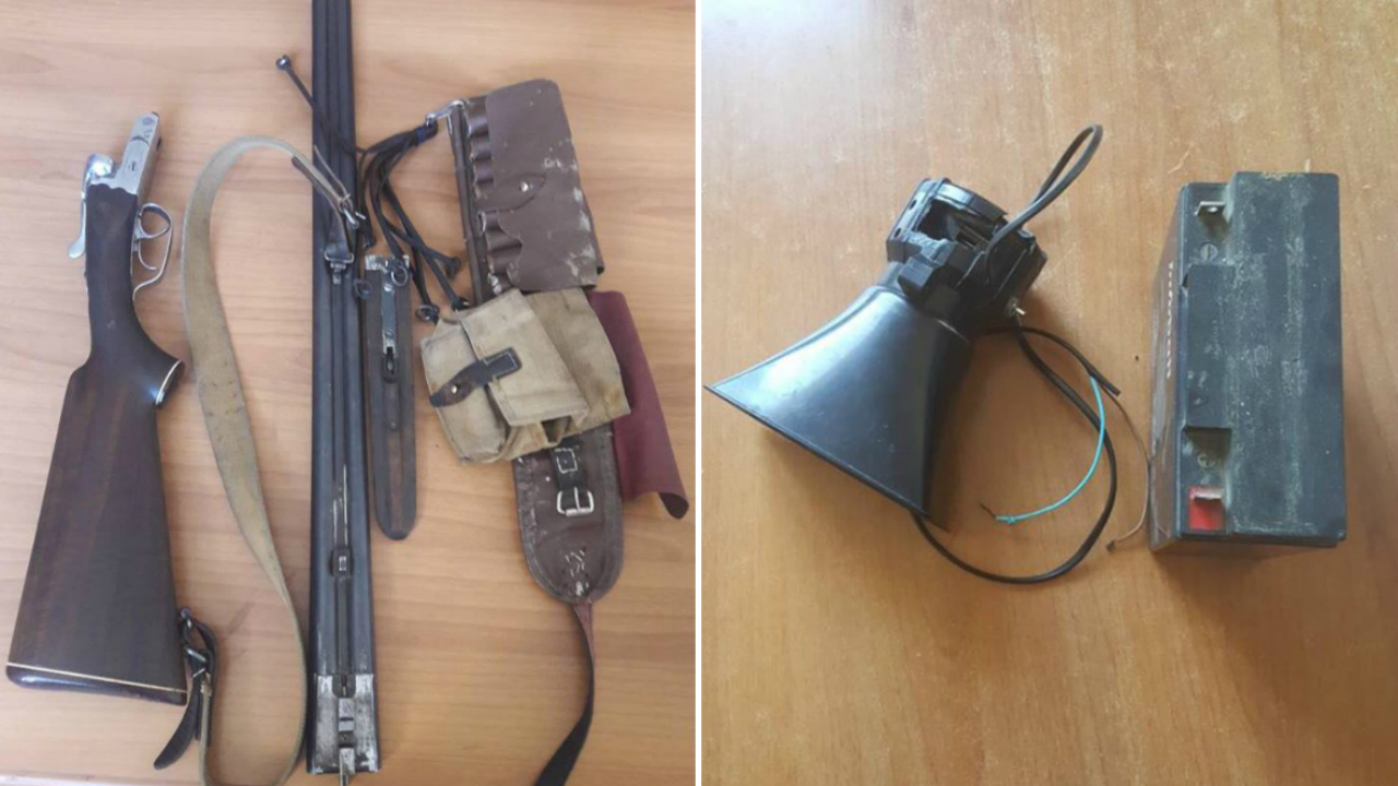 ნადირობისთვის აკრძალული იარაღები: ე.წ. მანოკი და ფარი
