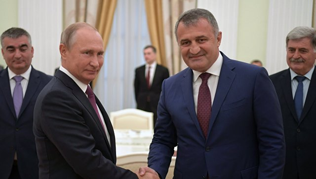 Бибилов: «Где Россия – там развитие, где Америка – там война, там смерть»