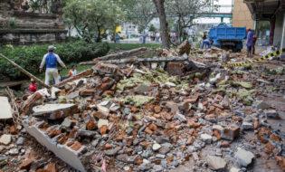მიწისძვრა ინდონეზიაში. ფოტო: EPA/MADE NAGI
