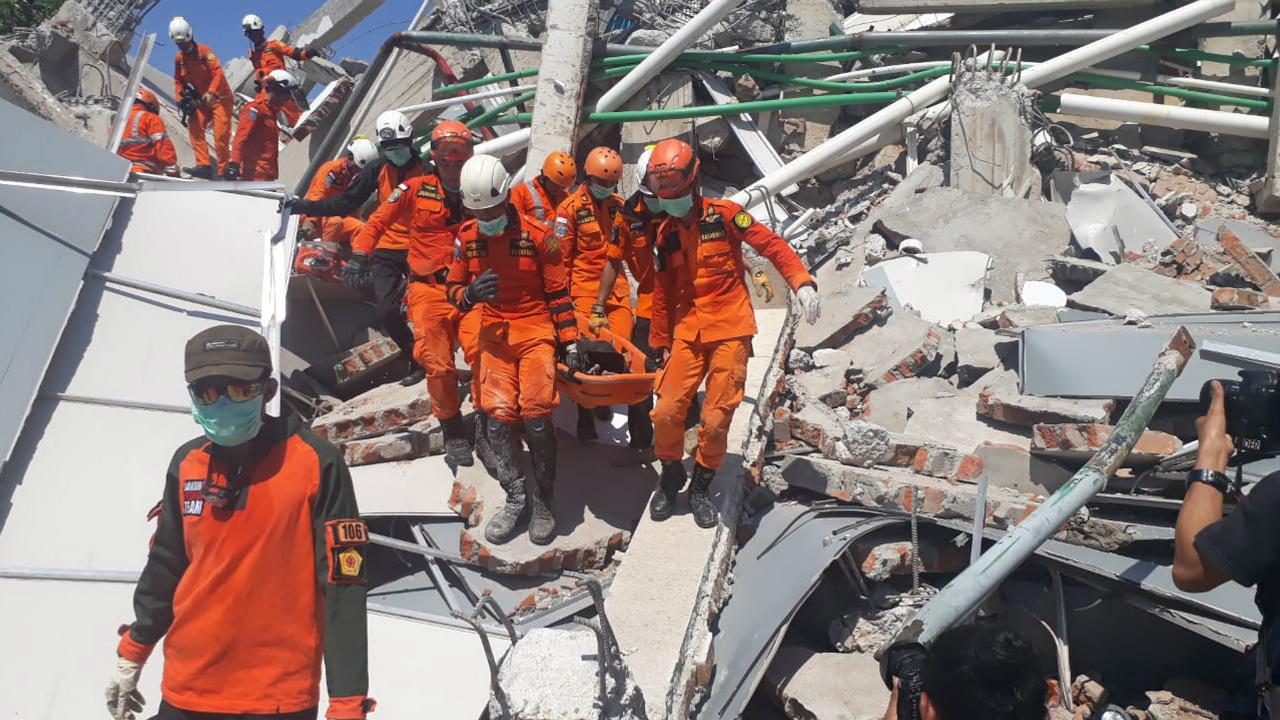 მიწისძვრა ინდონეზიაში. ფოტო: EPA/MAST IRHAM