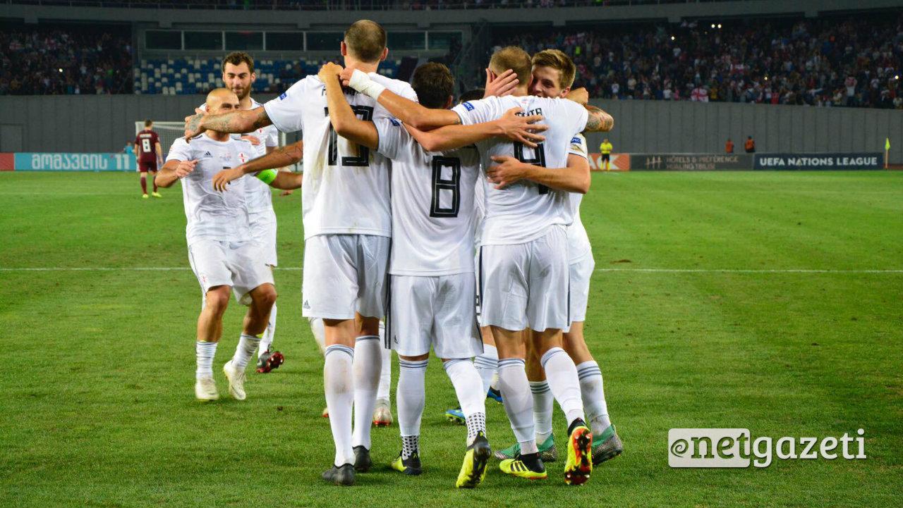 1:0 – საქართველოს ნაკრებმა ლატვიის ნაკრებს მოუგო