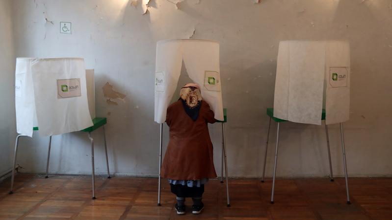 Избирком Грузии ввел правила на день выборов
