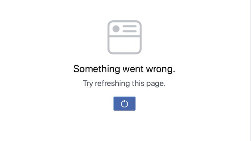 Facebook მსოფლიოს არაერთ ქვეყანაში შეფერხებით მუშაობს