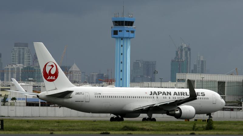 Japan Airlines-ის თვითმფრინავი. ფოტო: EPA/ FRANCIS R. MALASIG