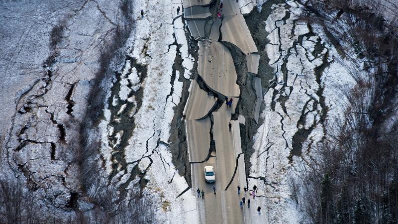 მიწისძვრა ალასკაზე. ფოტო: Marc Lester