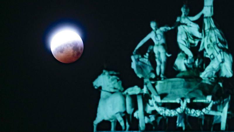 """""""სისხლიანი მთვარე"""" 21 იანვრის ცაზე – ფოტო"""