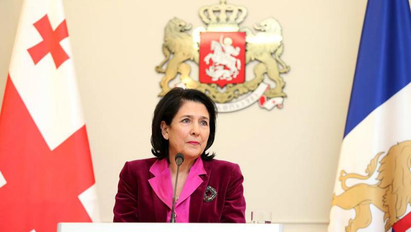 Президент Грузии: со мной не обсуждали заявку на членство в ЕС