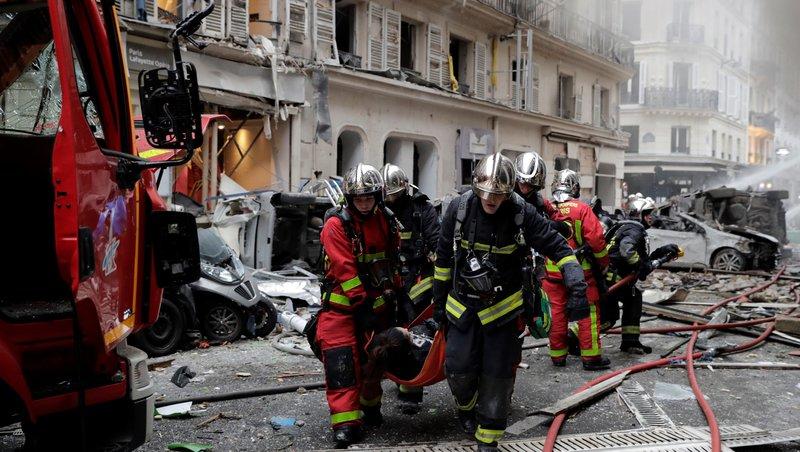 პარიზში აფეთქების შედეგად 4 ადამიანი დაიღუპა, 12 დაშავებული კრიტიკულ მდგომარეობაში