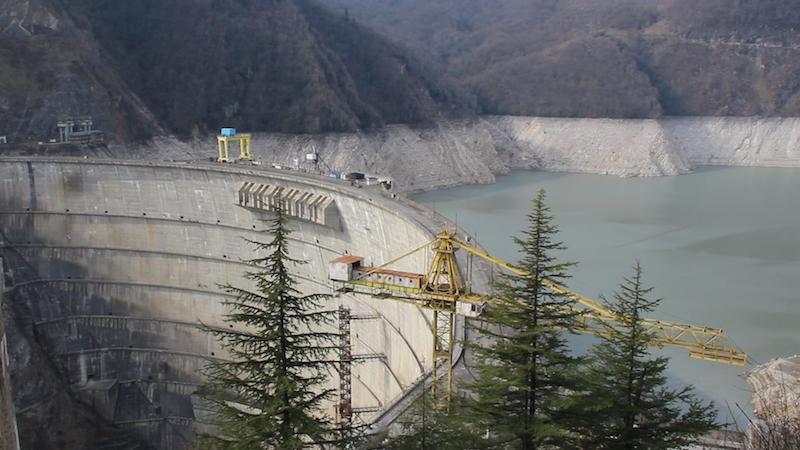 «Ингури ГЭС»: Сегодня, в 14:00 часов, были остановлены все пять энергоблоков