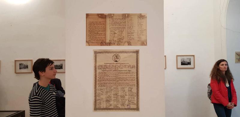 გამოფენა ლიტერატურის მუზეუმში. ფოტო: ნეტგაზეთი/მიხეილ გვაძაბია