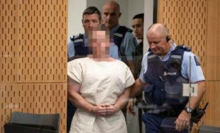 ბრენტონ ტარანტი სასამართლოს წინაშე. ფოტო: Reuters