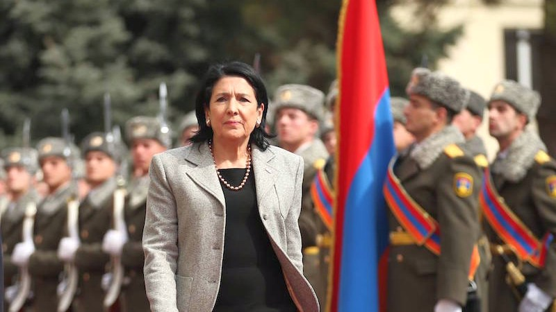 Заявление президента Грузии по «Кавказской платформе». Реакции и комментарии