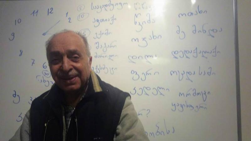 ნიზამი - ირაკლი კაკაბაძის უხუცესი სტუდენტი. ფოტო: ირაკლი კაკაბაძე