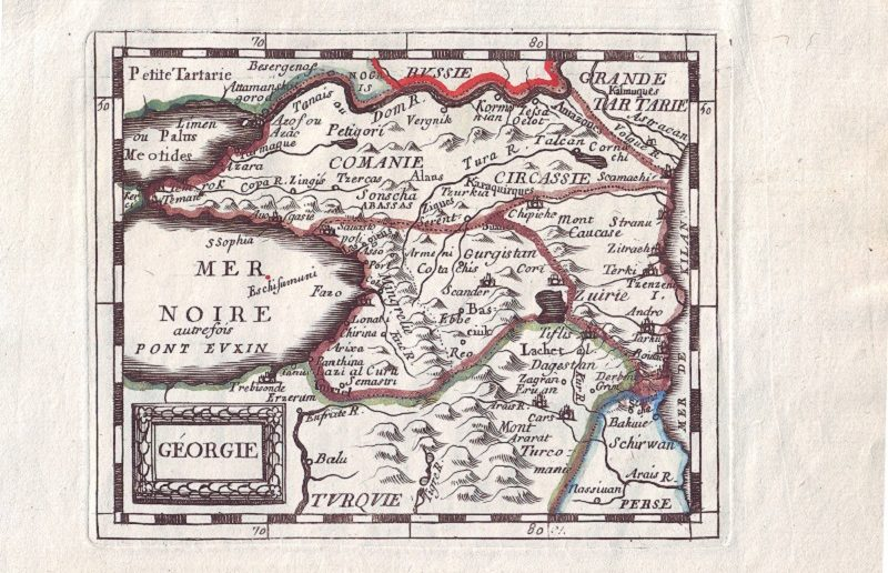 """პიერ დიუ ვალის 1670 წელს გამოცემული """"GEORGIE"""""""