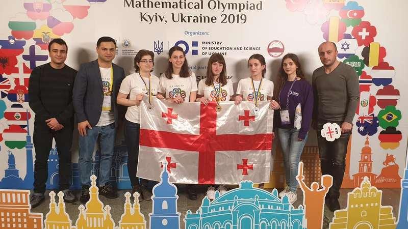 გოგოებს შორის მათემატიკის საერთაშორისო ოლიმპიადაზე საქართველო მე-11 ადგილზე გავიდა