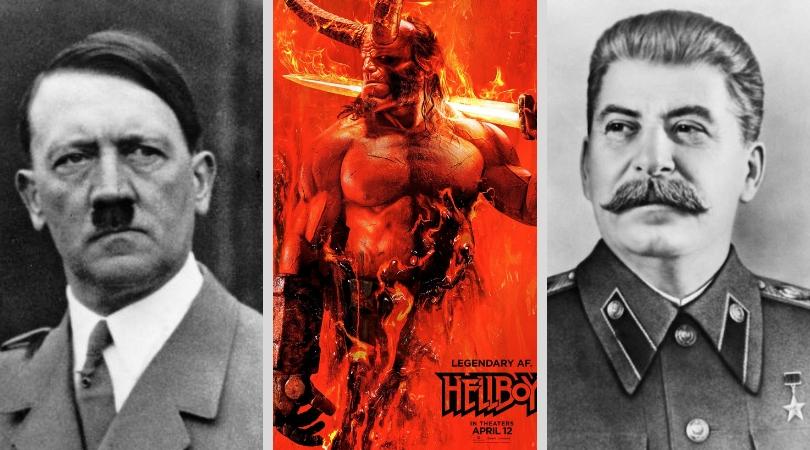 """რუსეთში ცენზურამ ფილმ """"ჰელბოიში"""" სტალინი ჰიტლერით ჩაანაცვლა"""