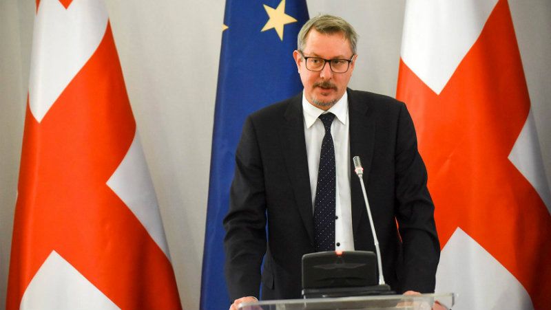 Европейские дипломаты будут наблюдателями на парламентских выборах в Грузии