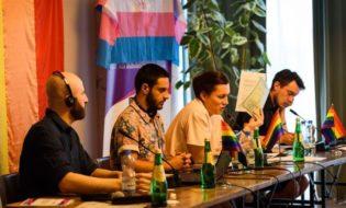 კონფერენცია თბილისის პრაიდის ფარგლებში. ფოტო: Tbilisi Pride