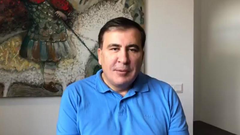 Саакашвили о «покушении» на себя: мужчина просто попросил автограф