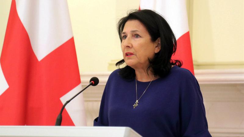 Президент Грузии: «С сегодняшнего дня у нас многопартийный парламент»