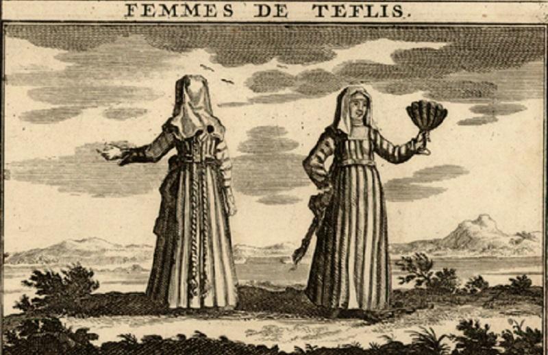 FEMMES DE TEFLIS – პირველი ჩანახატი ტფილისელი ქალების შესახებ