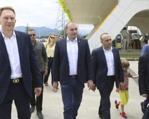 კომპლექსის საზეიმო გახსნას საქართველოს პრემიერ-მინისტრი
