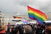 პეტერბურგის პრაიდი. ფოტო: Альянс гетеросексуалов и ЛГБТ за равноправие