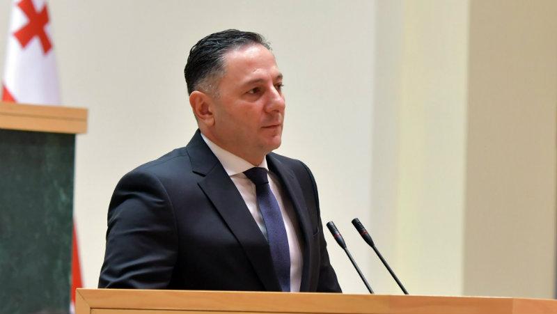 Глава МВД Грузии выступит на внеочередной сессии парламента