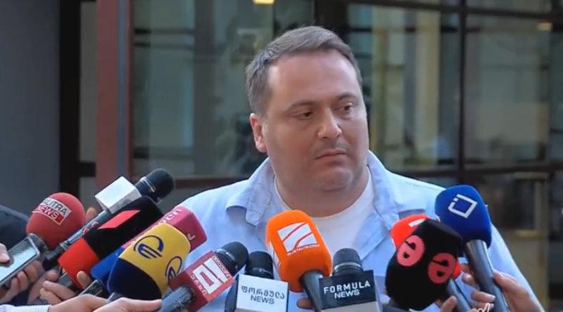 Гиорги Лаперашвили не будет возглавлять службу новостей телеканала «Formula TV»