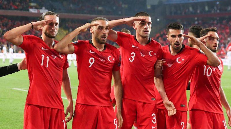UEFA თურქი ფეხბურთელების გოლის სამხედრო მისალმებით აღნიშვნას გამოიკვლევს