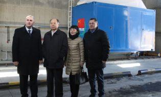 ჩინეთის სამთავრობო დელეგაციის წევრები ტექნიკური დახმარების პროექტის ფარგლებში ტვირთების მონიტორინგის პროცესს გაეცნენ