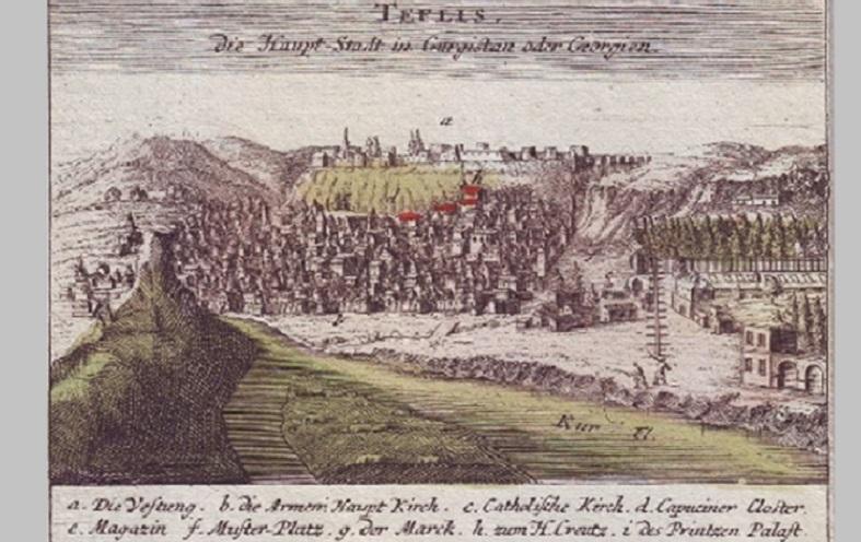 1701 წლის თბილისი