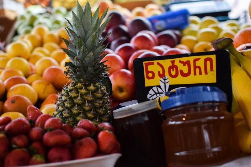 ხილი, თაფლი