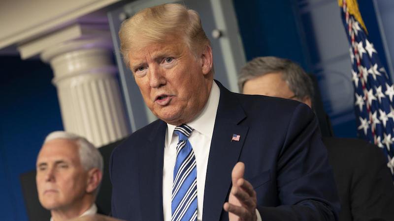ტრამპი WHO-ს დირექტორს აშშ-ის მიერ ორგანიზაციის შესაძლო დატოვებაზე აფრთხილებს