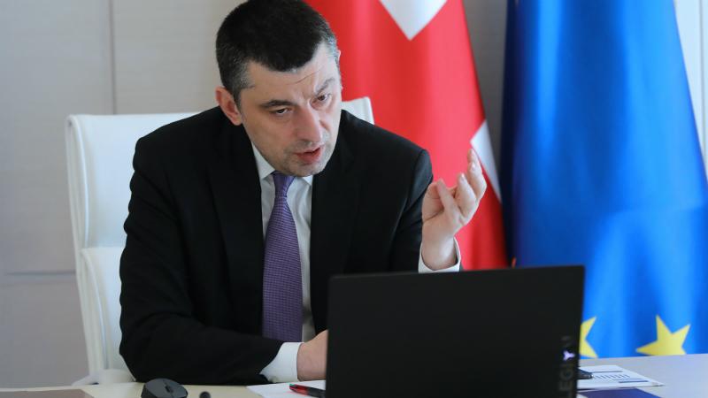 Гахария возглавит партийный список правящей «Мечты» на выборах