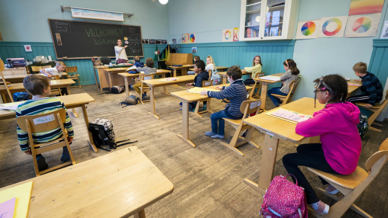 ნორვეგიის დაწყებით სკოლებში სასწავლო პროცესი აღდგა