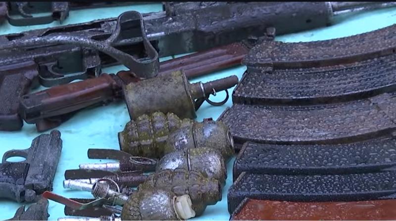იარაღის და საბრძოლო მასალის უკანონო შეძენა-შენახვისთვის ჭიათურაში ერთი პირი დააკავეს