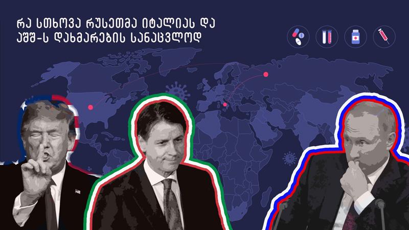 А санкции снять? — что Россия попросила у Италии и США за помощь