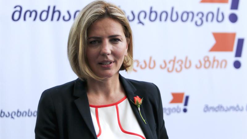 Анна Долидзе предложила свою кандидатуру в качестве единого кандидата в мэры Тбилиси
