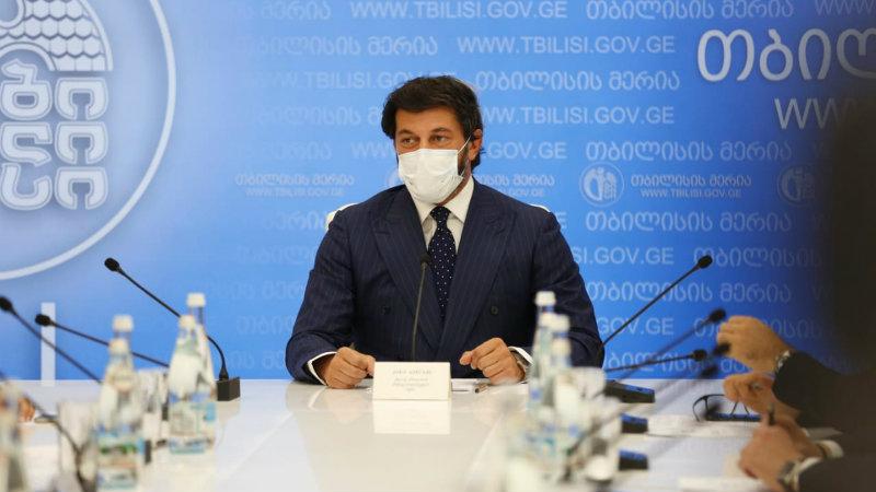 Мэр Тбилиси: водители автобусов без масок отстранены от работы на два дня