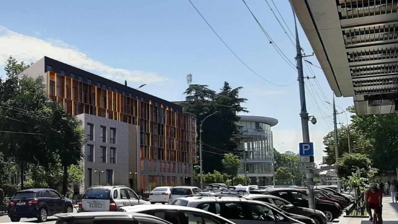 კომპანიას ფილარმონიასთან 7-სართულიანი შენობის აშენება სურს