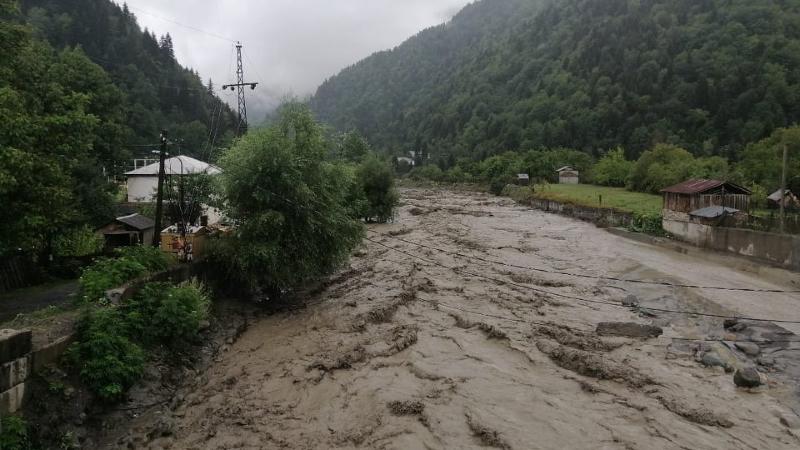 40 сел в Сванети оказались отрезаны от внешнего мира