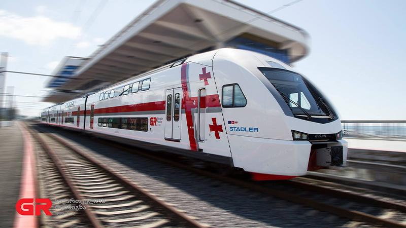 Из-за комендантского часа в Грузии меняется график движения поездов